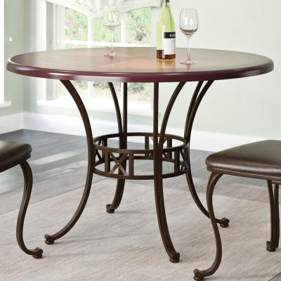 Jericho Warm Brown Dining Table
