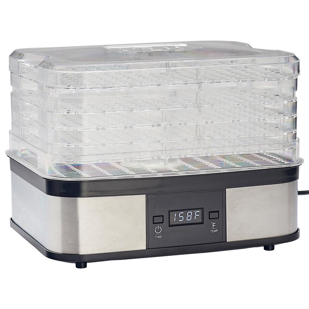 LEM 5 Tray Plastic Dehydrator