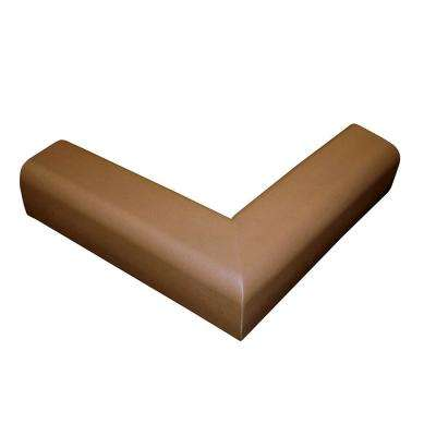 Pressure-Mounted Fireplace Cushion, Brown