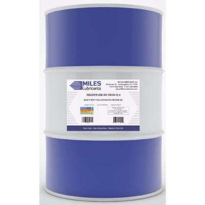 Milesyn SXR HD 5W-40 CJ-4, 55 Gal. Full Synthetic Heavy-Duty Diesel Engine Oil Drum
