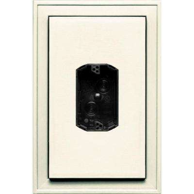 8.125 in. x 12 in. #034 Parchment Jumbo Electrical Mounting Block Centered