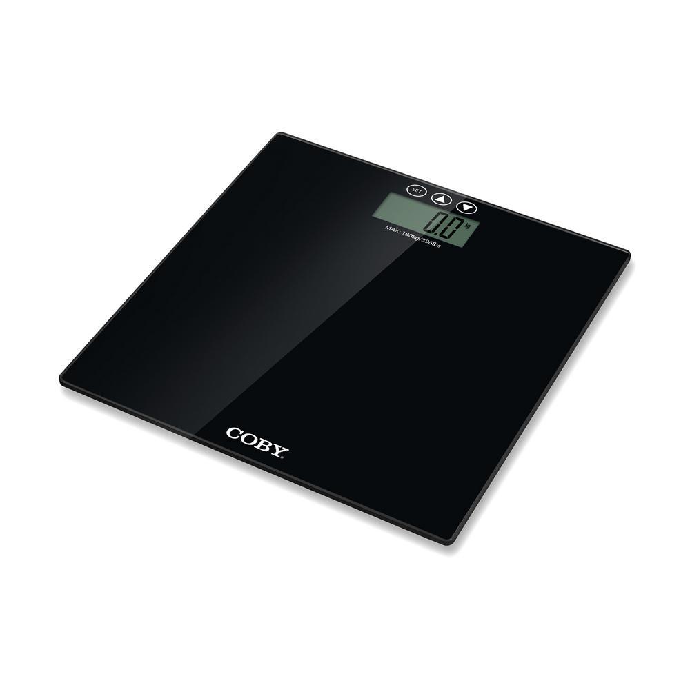 Bmi bathroom scales - Coby Digital Bathroom Scale With Bmi Estimator