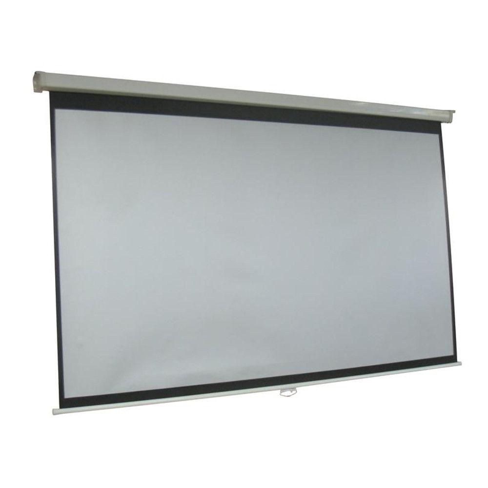 Inland Computer ProHT 120 in. Manual Projection Screen wi...