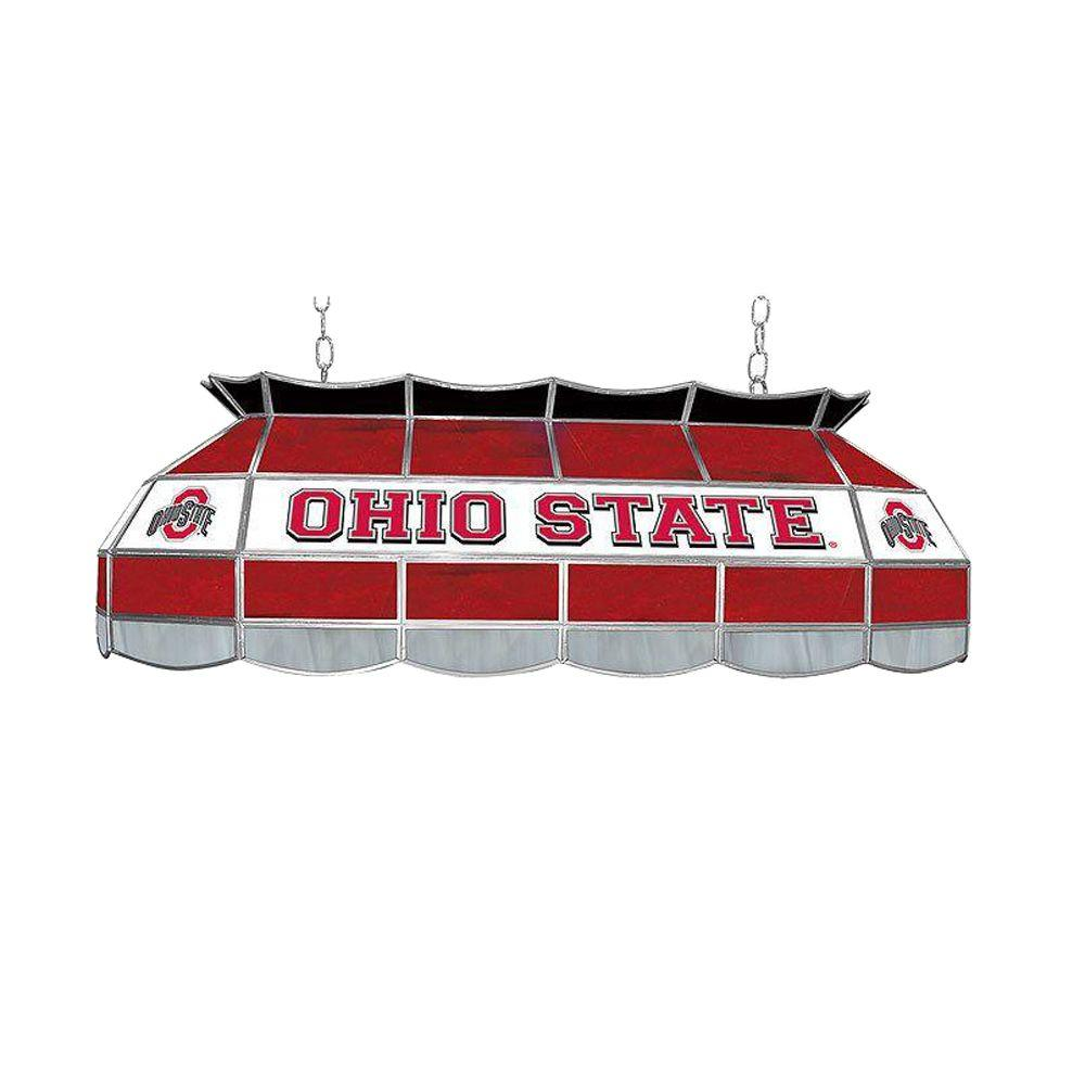 Trademark Global The Ohio State 3-Light 40 In. Stained