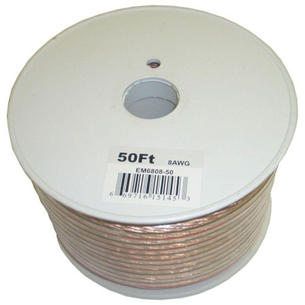 Electronic Master 50 ft. 8-2 Stranded Speaker Wire