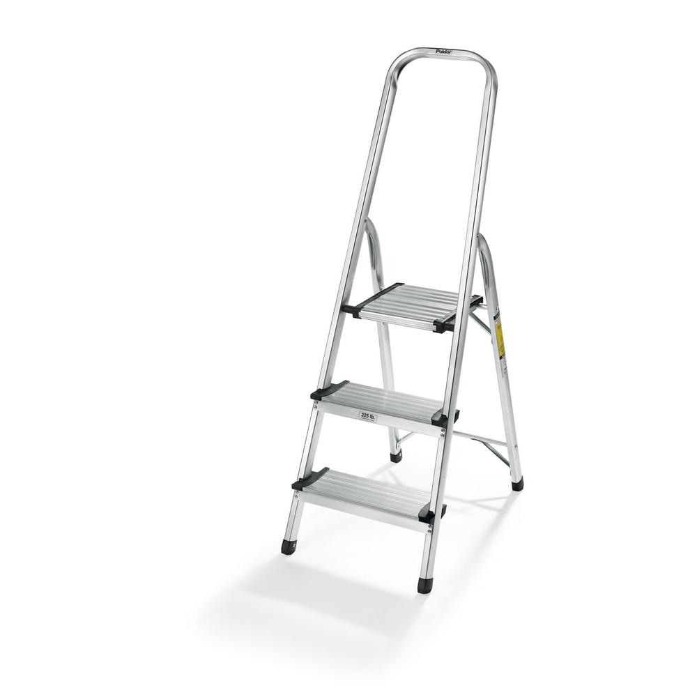 Polder 3 Step Ultralight Step Stool Ldr 3500rm The Home