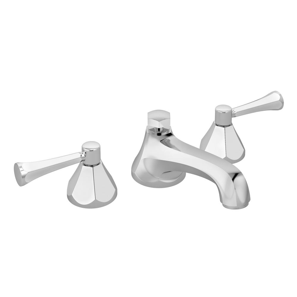 Symmons Canterbury 8 in. Widespread 2-Handle Bathroom Faucet with ...