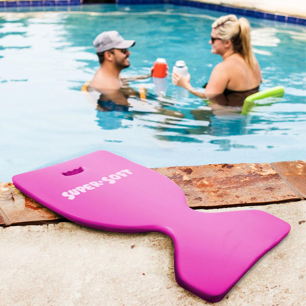 Texas Recreation Super Soft Deluxe Saddle Flamingo Pink Pool Float
