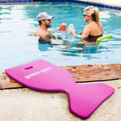 Super Soft Deluxe Saddle Flamingo Pink Pool Float