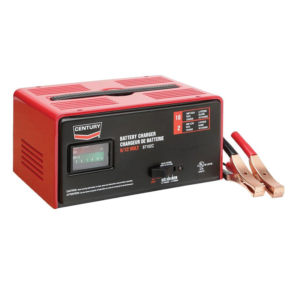 Century 12 Volt 87102c Battery Charger 141 291 904 The