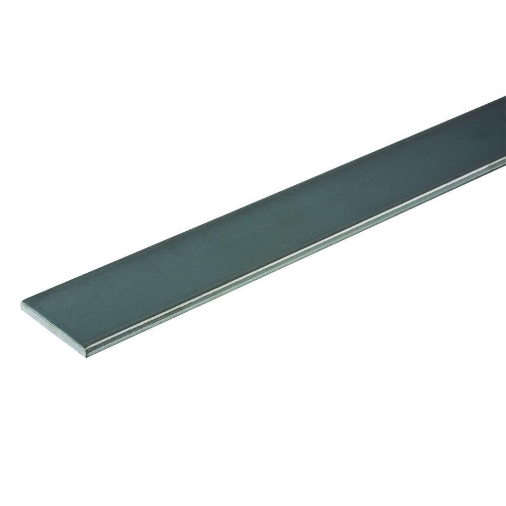 2 in. x 3/8 in. x 36 in. Plain Flat Bar