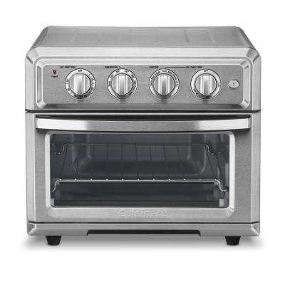 Air Fryer Toaster Oven Brushed Stainless
