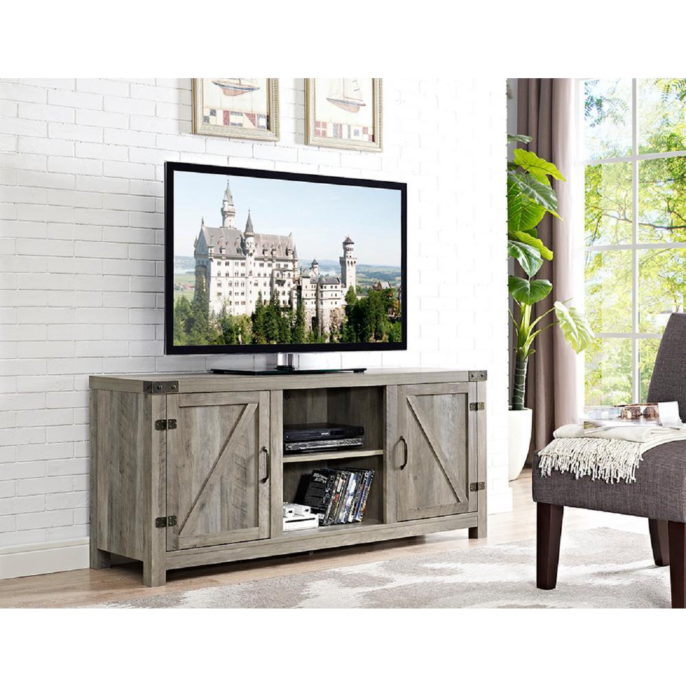 Walker Edison Furniture Company 58 In Barn Door Tv Stand
