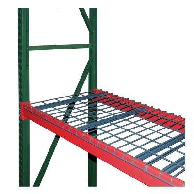 96 in. W x 120 in. H x 36 in. D Steel Bulk Rack Shelving Add-On Unit with Wire Mesh Decking