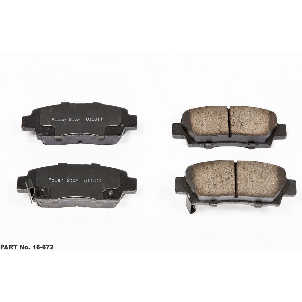 1999 Toyota Camry Brake Pads: Power Stop Disc Brake Pad Set 1995-1999 Toyota Avalon-16