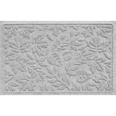 Aqua Shield Fall Day White 17.5 in. x 26.5 in. Door Mat