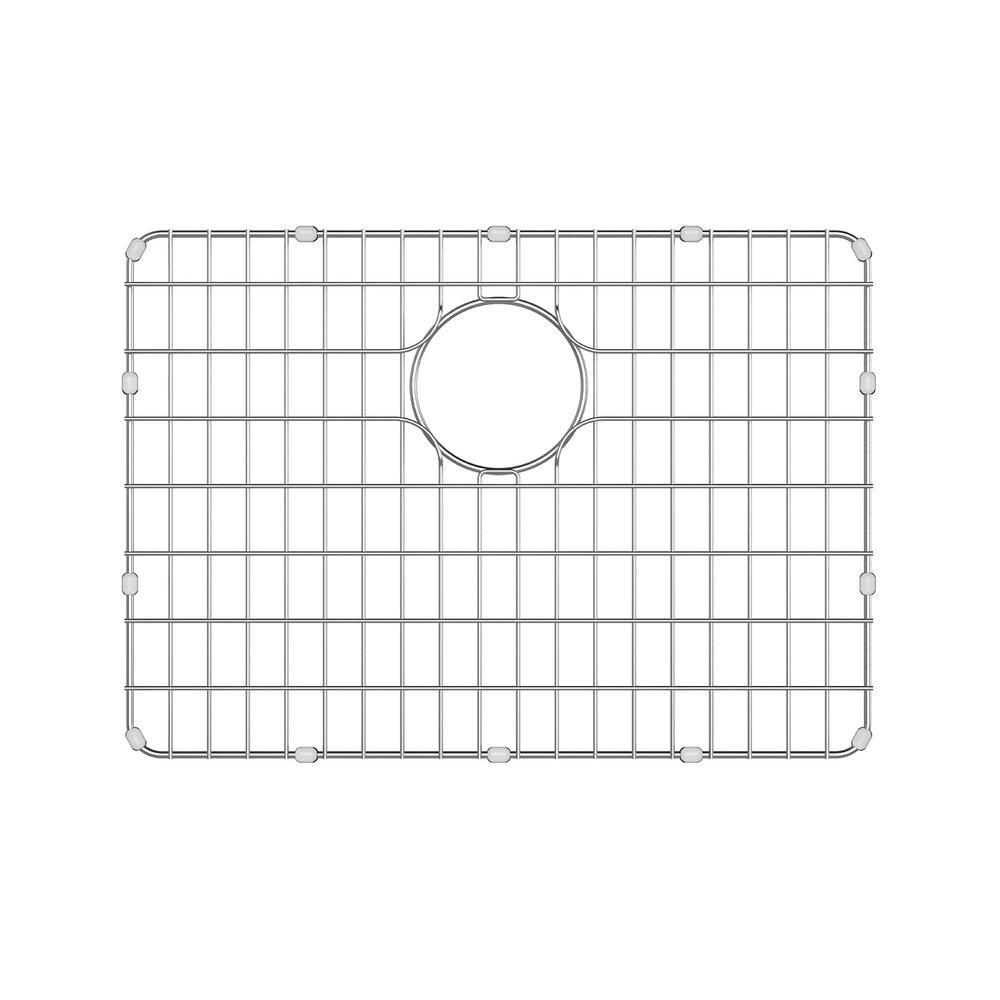 kraus dex 20.8 in. x 14.8 in. kitchen sink bottom grid-bg2317