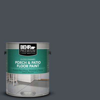 1 gal. #PPU25-22 Chimney Gloss Porch and Patio Floor Paint