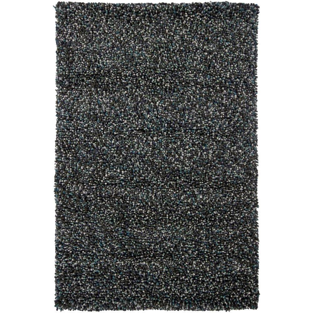 Gems Grey/Blue 9 ft. x 13 ft. Indoor Area Rug