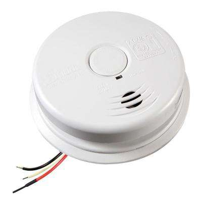 Worry Free 120-Volt Hardwired Inter-Connectable Smoke Alarm with 10-Year Battery Backup