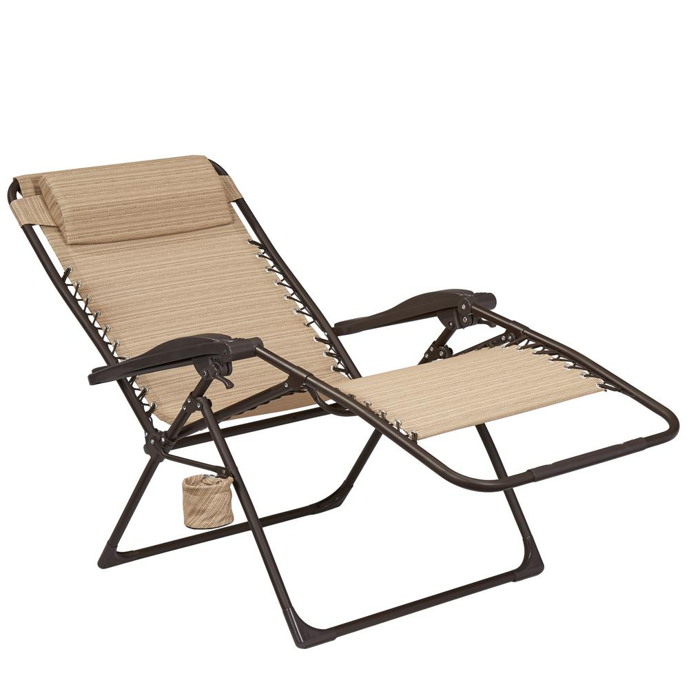 Hampton Bay Mix and Match Oversized Zero Gravity Sling Outdoor Chaise on folding chaise lawn chairs, camping frame, camping folding chairs, rei camping lounge chairs, camping hammock chairs, reclining camping chairs, camping rocker chairs, beach camping chairs, camping picnic tables, camping board games,