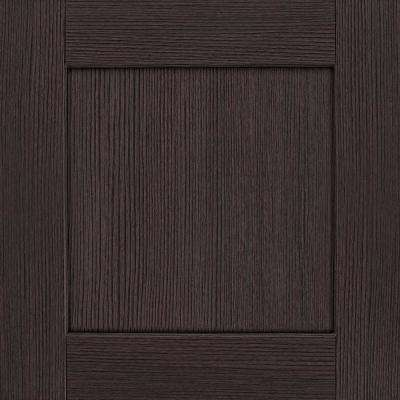14-1/2x14-9/16 in. Cabinet Door Sample in Reading DFO Duraform Cascade