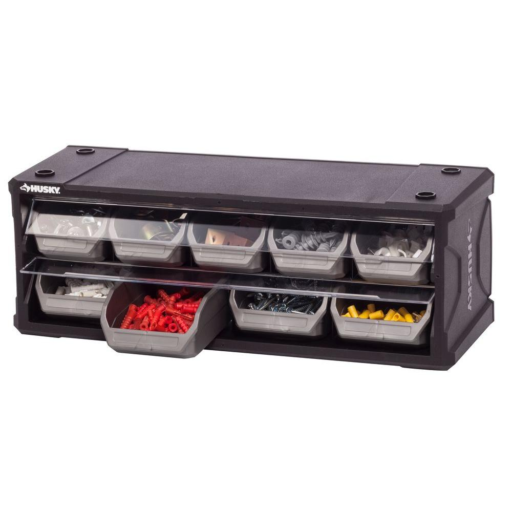 Superieur Husky 9 Drawer Small Parts Organizer