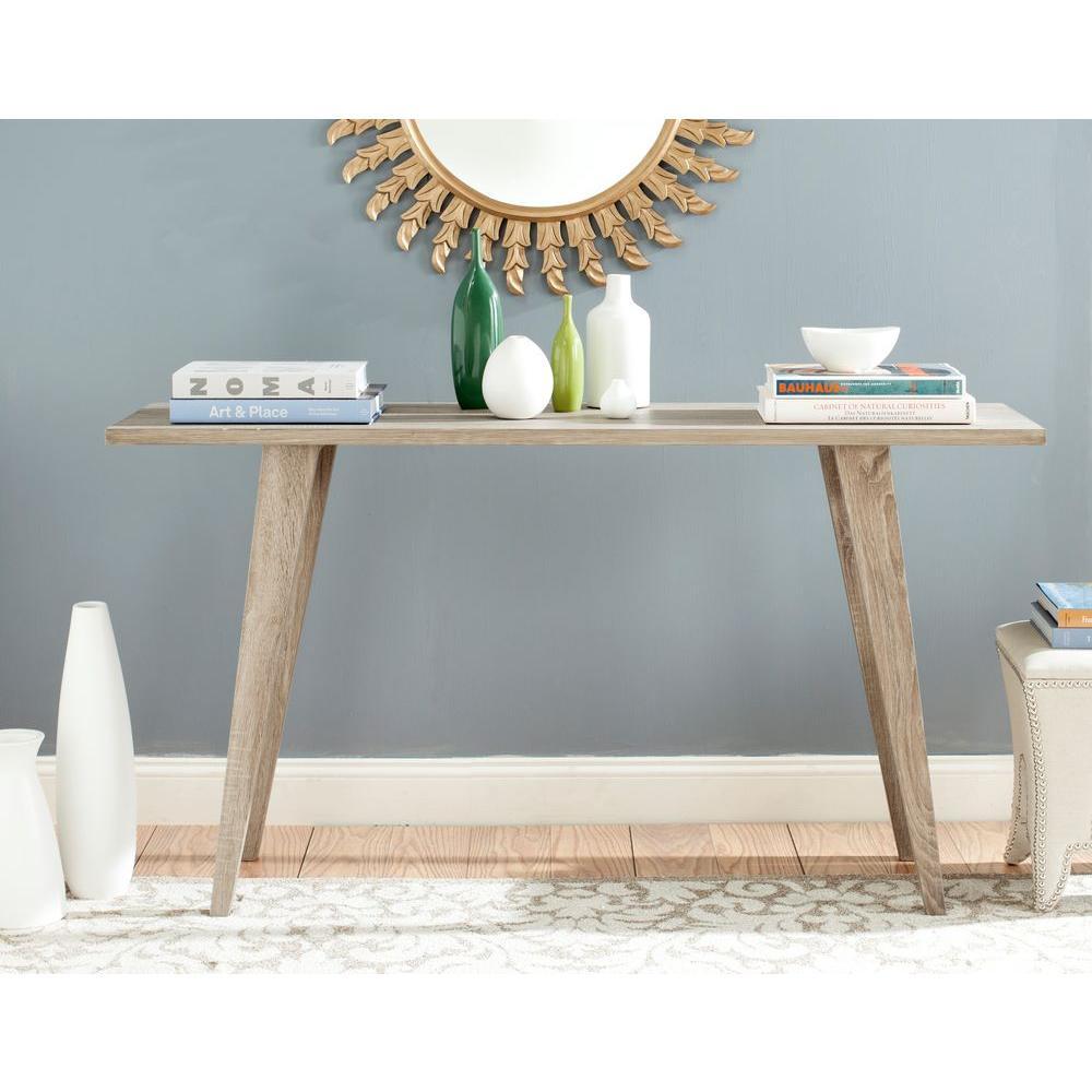Safavieh Manny Oak (Brown) Console Table
