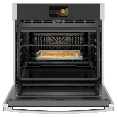 Profile 30 in. Smart Single Electric Wall Oven with Convection Self-Cleaning in Stainless Steel