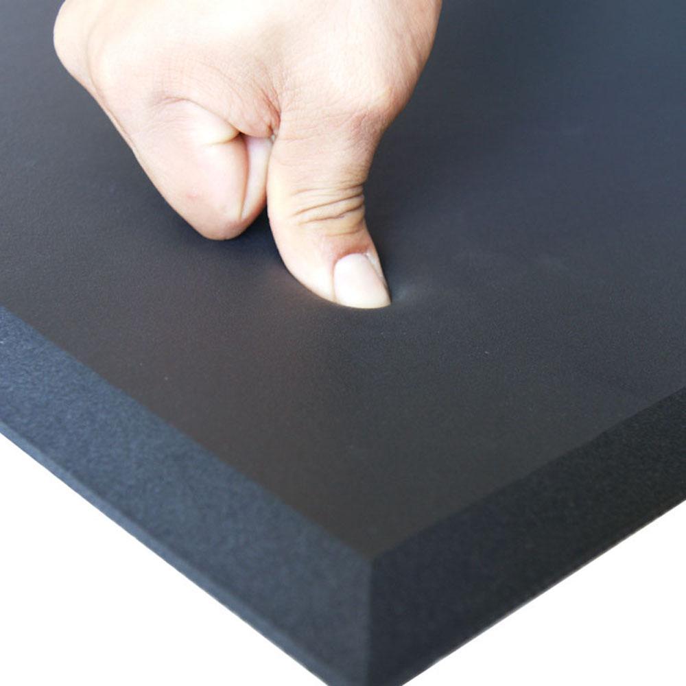 Comfort Cloud Black 30 in. x 60 in. Foam Comfort Mat