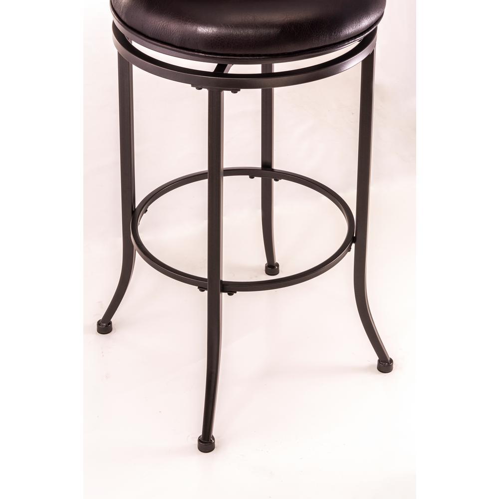 Superb Hillsdale Furniture Cameron 30 In Chestnut Brown Swivel Beatyapartments Chair Design Images Beatyapartmentscom