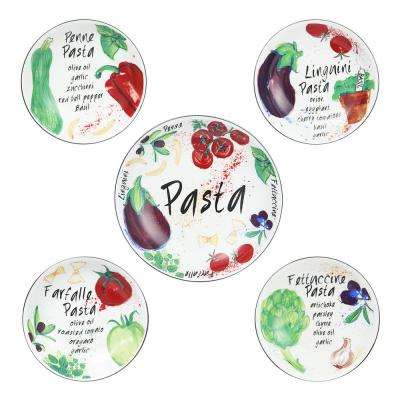 Fruit Orchard Pasta Bowl (Set of 5)