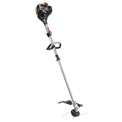 32 cc 4-Cycle Straight Shaft Attachment Capable Gas Trimmer with JumpStart Capabilities