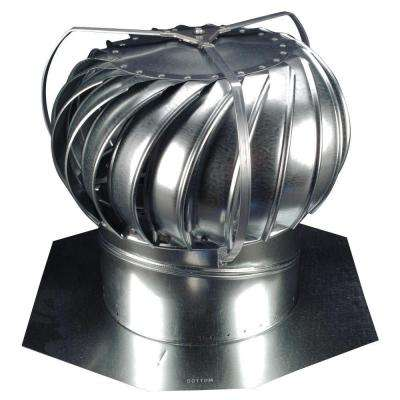 12 in. Mill Finish Galvanized Steel Externally Braced Wind Turbine