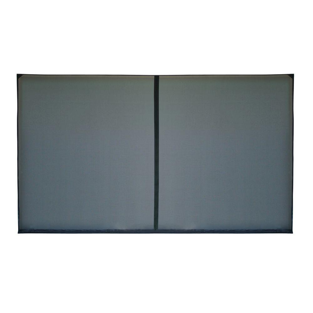 18 ft. x 7 ft. 1-Zipper Garage Door Screen