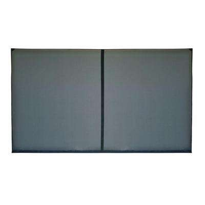 18 ft. x 7 ft. 1-Zipper Garage Door Screen