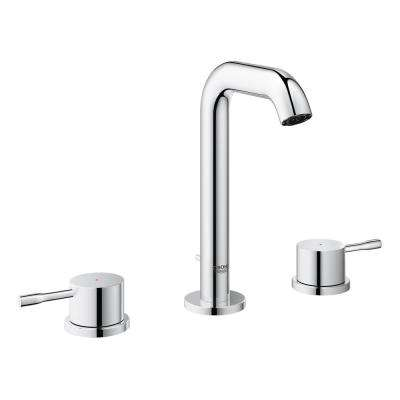 Essence New 8 in. Widespread 2-Handle 1.2 GPM Bathroom Faucet in StarLight Chrome