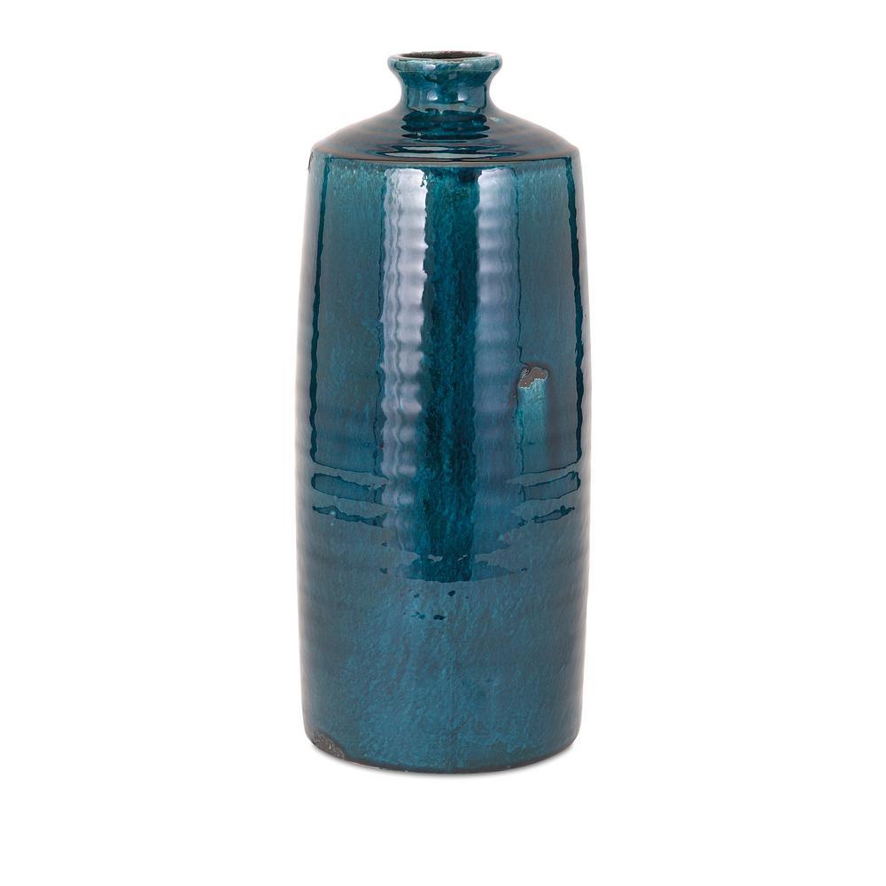 Arlo Large Blue Vase