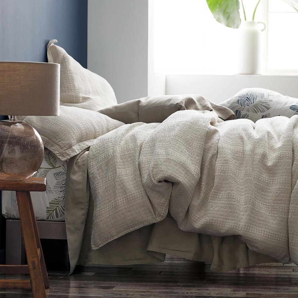 Interwoven Cotton Blend Duvet Cover