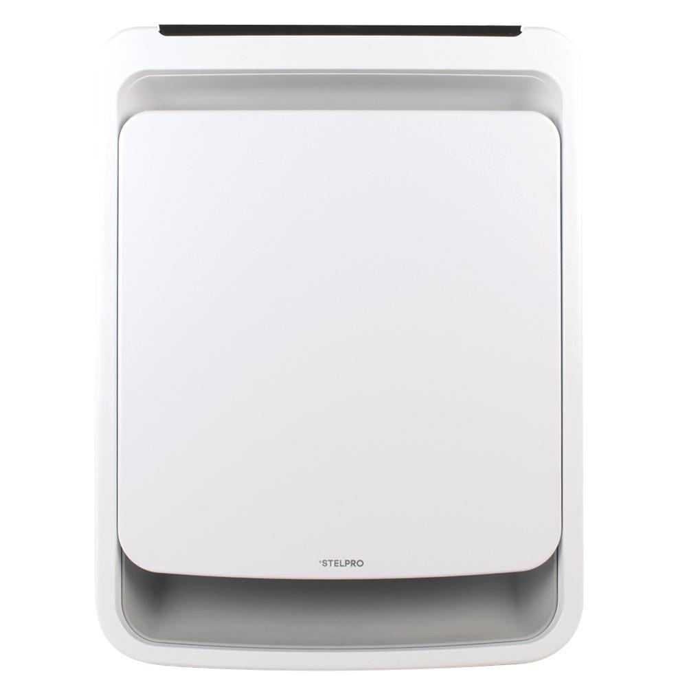 Oasis 12 in. x 15-13/16 in. 1500-Watt 120-Volt Bathroom Fan Heater in White with Plug