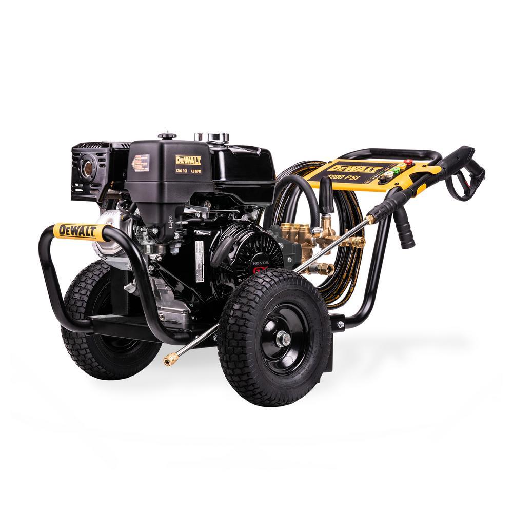 Honda GX390 4,200 PSI 4 GPM Belt Drive Gas Pressure Washer