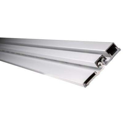 83 in. Full Surface Continuous Hinge Heavy Duty Limted Frame in Aluminum