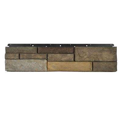 8 in. x 36 in. Versetta Stone Siding Tight-Cut Flat Sterling (6-Bundles)