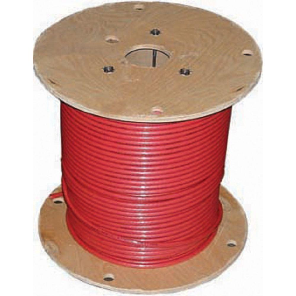 Southwire 1,000 ft. 2 Red Stranded CU SIMpull THHN Wire