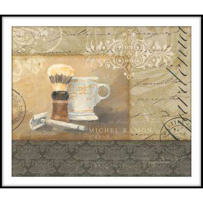 9.75 in. x 11.75 in. ''Bath and Beauty IV'' Framed Wall Art