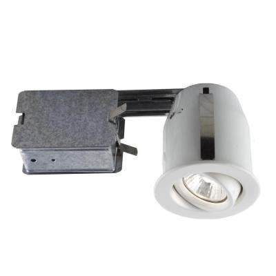 303 Series 3 in. White Halogen Recessed Lighting Kit
