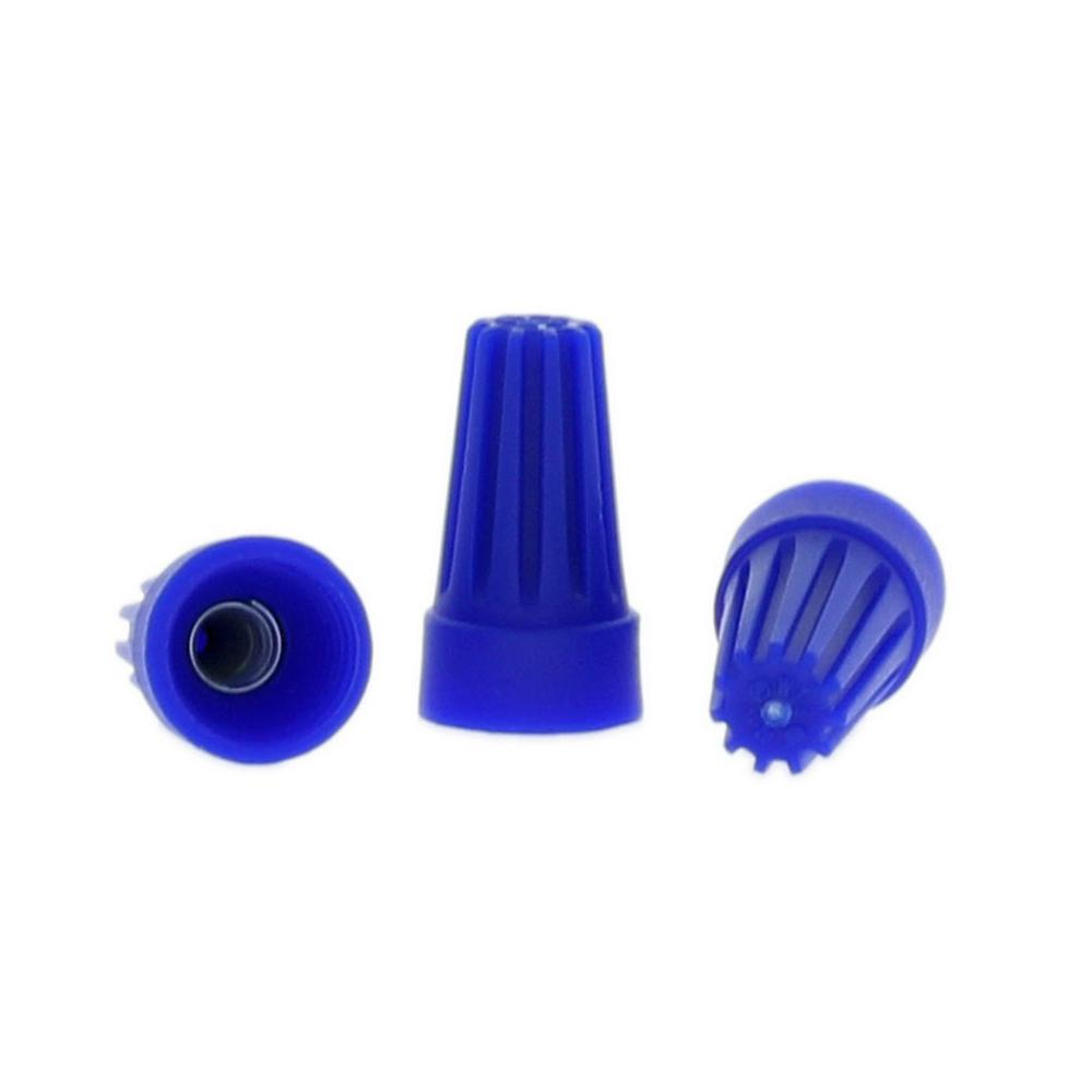 Commercial Electric Wire Connectors, Blue (35-Pack)