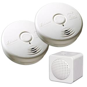 Kidde RemoteLync Home Monitor Worry Free Smoke Detector Bundle by Kidde