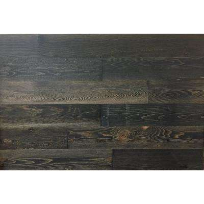 Black Ice 4 in. Peel and Stick Wall Applique Panels (20 sq. ft./Box)