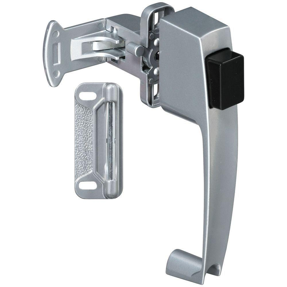 National Hardware 1-3/4 in. Silver Push Button Latch